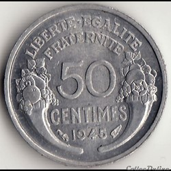 50 CENT MORLON alu 1945