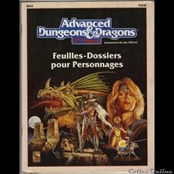 FEUILLES-DOSSIERS Pj -  édition 1991