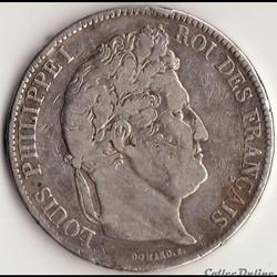 5 francs IIème type DOMARD 1837 A