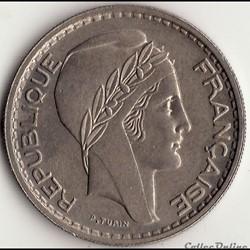 10 FRANCS TURIN Petite Tête 1949