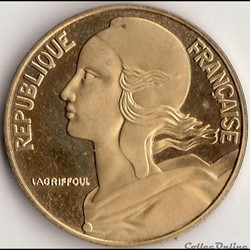 20 CENTIMES MARIANNE 1993 BE