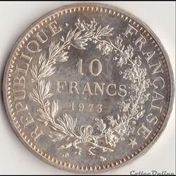 10 FRANCS HERCULE 1973