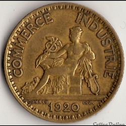 1 franc CHAMBRES DES COMM. 1920 (DOMARD)