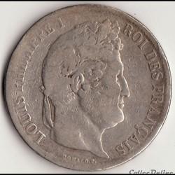 5 francs Ier TYPE DOMARD, TRANCHE EN CRE...