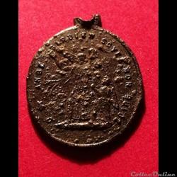 Médaille saint Joseph, ange gardien XIX ...