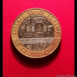 10 Francs - 1989