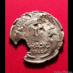 1 Franc - Morlon 1946