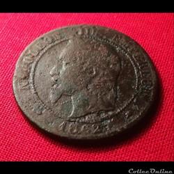 10 centimes - Napoléon III 1862