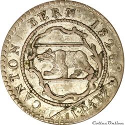 Suisse - 1 Batzen 1826