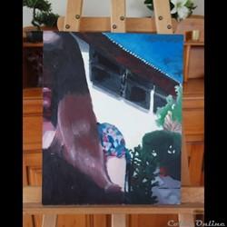 Peinture Autoportrait