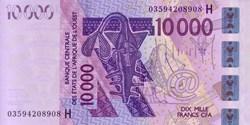10.000 CFA - 2003