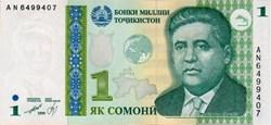 1 somoni - 1999