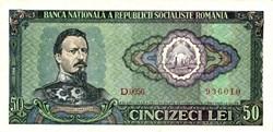 50 le1 1966 Pick 96a Roumanie