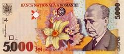 5.000 LEI - 1998
