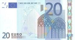 20 Euro 2002 Pick 10u France