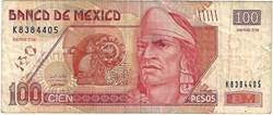 100 Pesos 2005 Pick 118h Mexique
