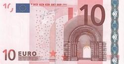 10 Euro 2002 Pick 9y Grèce