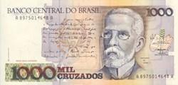 1000 Cruzeiros 1988 Pick 213b  Bresil