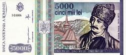 5.000 LEI - 1993