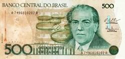 500 Cruzeiros 1987 Pick 212c Bresil
