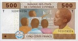 500 Francs 2002 Pick 306Mc République ce...