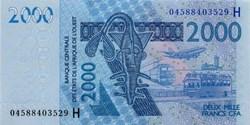 2.000 CFA - 2003