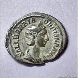 Orbiana. Wife of Severus Alexander.  225...