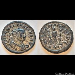 Tacitus (A.D.276). AE Antoninianus. Orig...