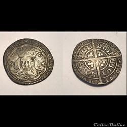 Edward III 1327-77 Groat. Post Treaty.
