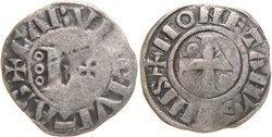 Chalon-sur-Saône 1113-1143 denier au nom...