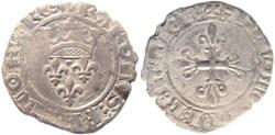"""Chalon-sur-Saône 1419-09 gros dit """"flore..."""