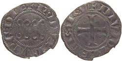 Dijon 1284-1300 denier aux deux annilles...