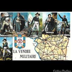 85 carte de la vendée militaire