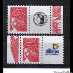 11 timbres personnalisés No 3417 A