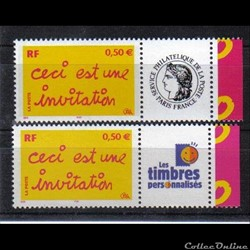 19 timbres de message  2004