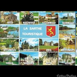 villes de la SARTHE