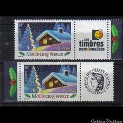 09 timbres meilleurs voeux  2002