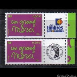 20 timbres de message 2004