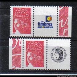 11 timbres personnalisés  No 3587 A