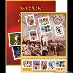 bloc No 29  LE SIECLE  LE SPORT 2000