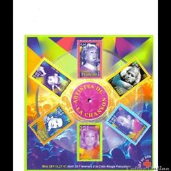 bloc No 37 PERSONNAGES CELEBRES   2001