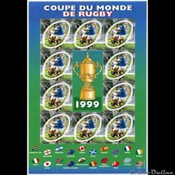 bloc No 26 COUPE DU MONDE RUGBY  1999