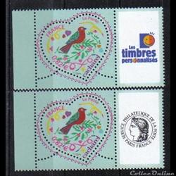 36 timbres personnalisés No 3748 A de 20...