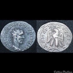 Tétradrachme Syro-phénicien Trajan Dèce