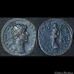 Dupondius TR POT - VII - IMP IIII COS II...