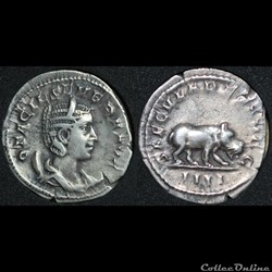 Antoninien Otacilia SAECVLARES AVGG / II...