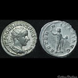 Antoninien Gordien III AETER-NITATI AVG
