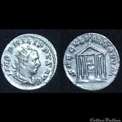 Antoninien Philippe 1er l'Arabe SAECVLVM NOVVM