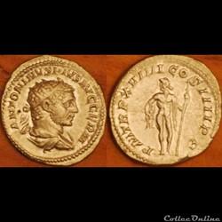 Antoninien PM TRP XVIIII COS IIII PP