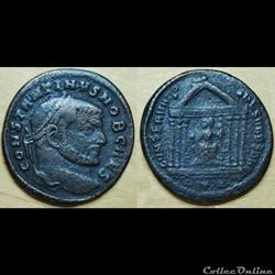 Nummus Constantin I CONSERVAT-O-RES VRB ...